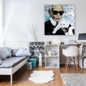 Aranżacja - obraz Lagerfeld